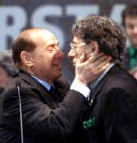 Bossi e Berlusconi