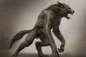 werewolf with tail