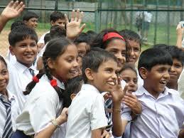 bambini indiani a scuola