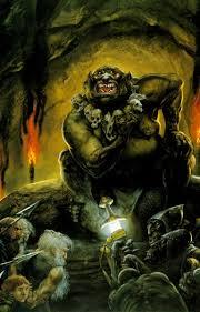 Goblins capture the dwarves.