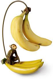 فوائد الموز Monkey-banana-holder