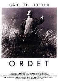 Cartel de la película, Ordet-La palabra, 1955