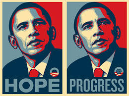 shepard fairey barack obama Recession Impacts Green Buildin