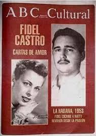 Natalia Revuelta y Fidel Castro