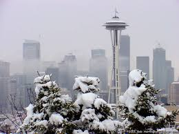 Snow in Seattle