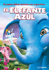 El elefante azul