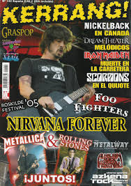 kerrang¡..revista de rock anglo-europea.