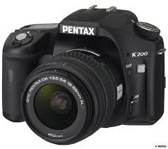 200802 02 Pentax K200D Black SLR Digital Camera Kit   $569 Shipped