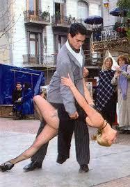 Bailando Tango por las calles de Buenos Aires