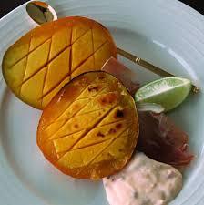 Grilled Mango