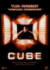 Cube The Movie Poster Art KÜP SIFIR