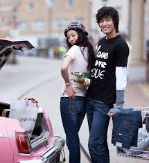 moon chae won & lee min ho