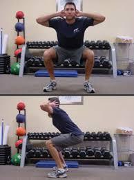 Sample Routine - 3 day No equipment Bodyweight: Intermediate Body_weight_squats