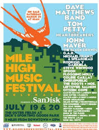 Mile High Music Festival 2009 Poster