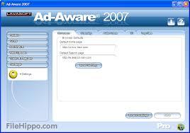 برنامج لحماية جهازك التجسسad-aware2009 8.0.0.0