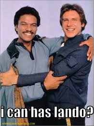 Vote for Calrissian or Palpatine? Hmmmm…
