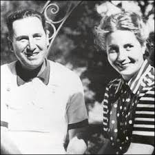 Juan Domingo Perón y Eva (Evita) Perón